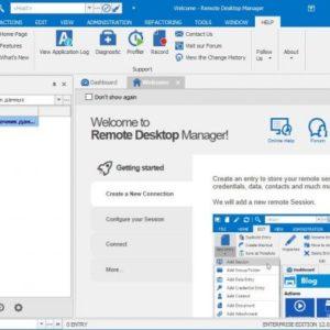 Remote Desktop Manager Enterprise License [LIFETIME]