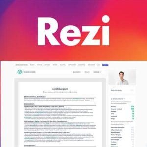 Rezi Résumé Software Premium Subscription [LIFETIME]